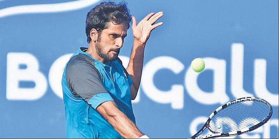 Saketh Myneni beat Aslan Karatsev in the Bengaluru Open.