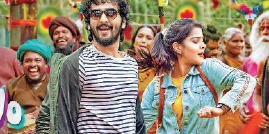 A still from the film Ullasam
