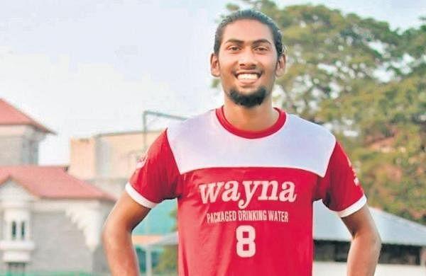 Footballer Nimshad writes a piece of history for Eloor
