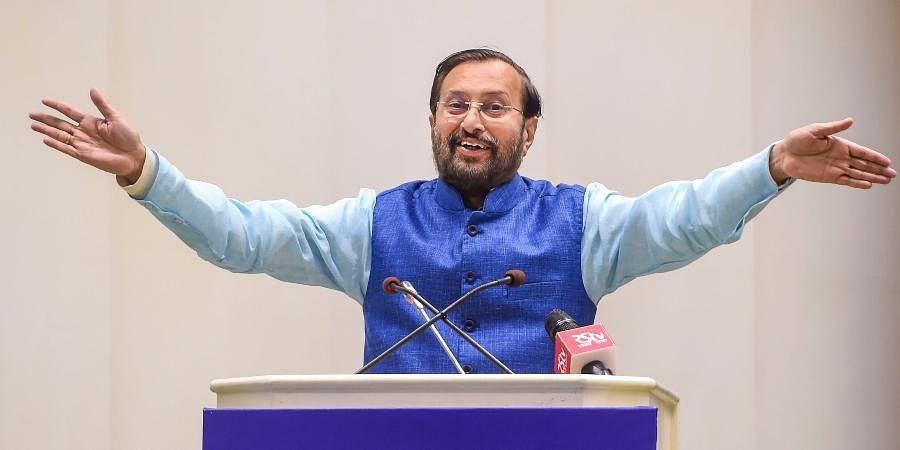 Union Minister for Information and Broadcasting Prakash Javadekar