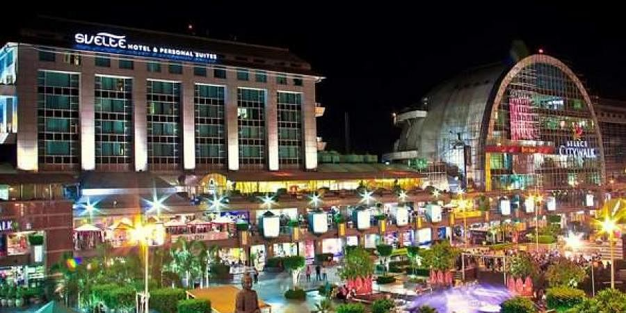 Delhi's Select Citywalk mall celebrates love the green way- The ...