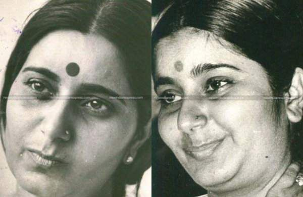 Let us take a look at some of the rare photos of veteranBJP leader and former External Affairs Minister Sushma Swaraj on her 68thbirth anniversary.