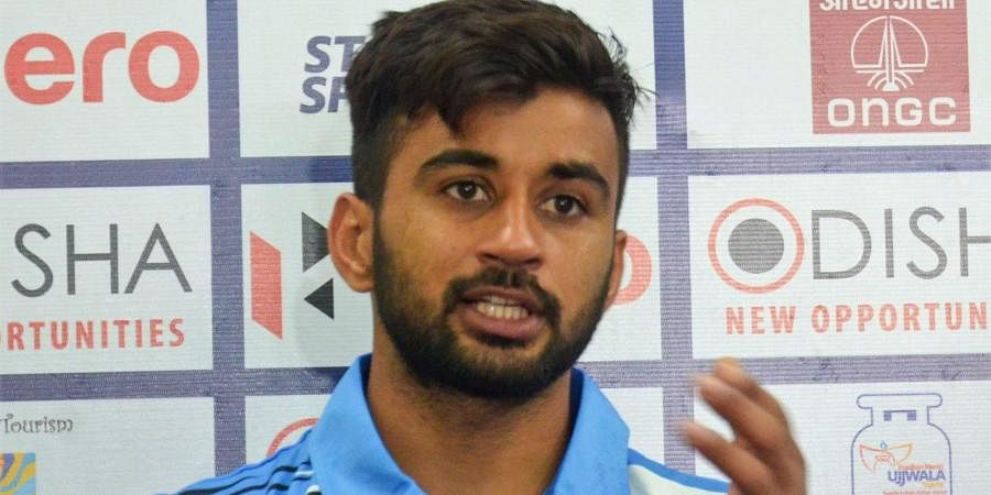 Indian hockey star Manpreet Singh