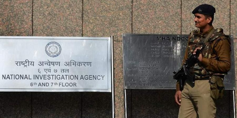 The office of the National Investigation Agency in New Delhi.
