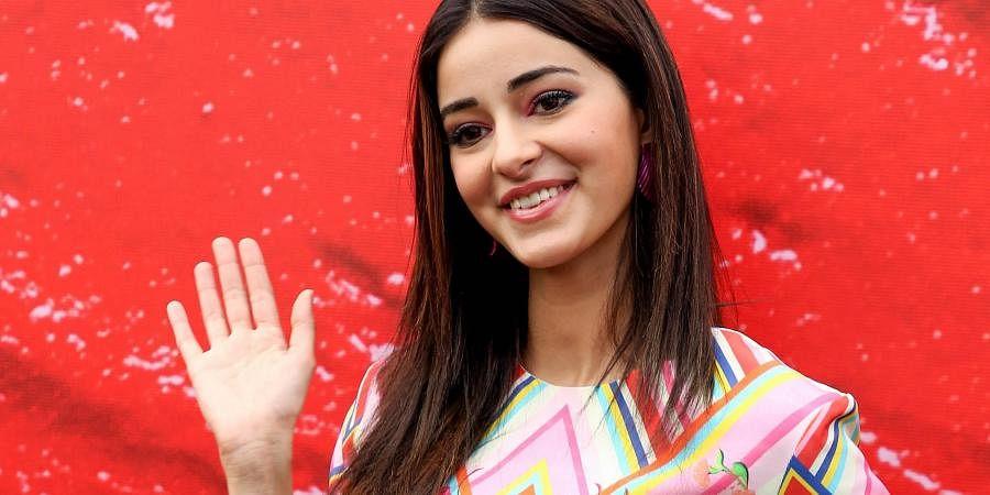Bollywood actress Ananya Panday.