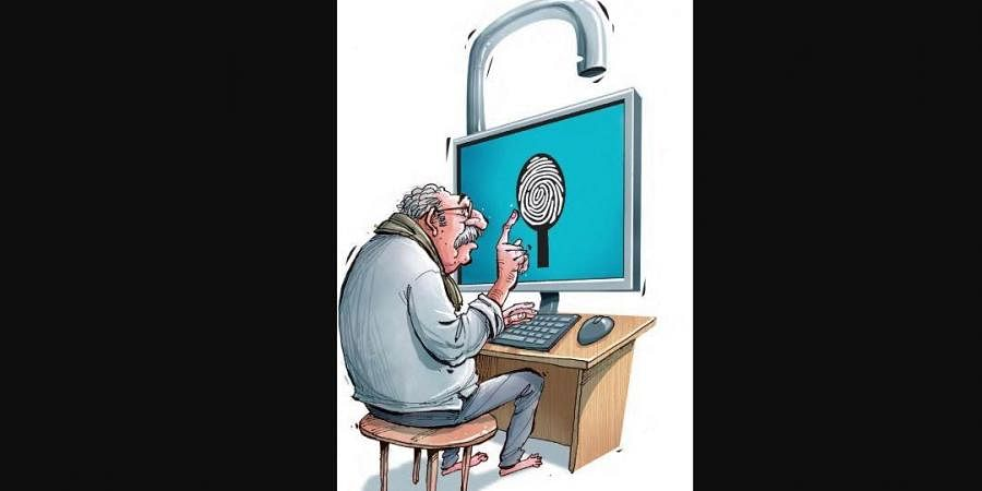 old people, senior citizen, password