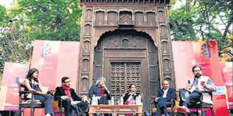 For five days, writers of every hue, agents, publishers, celebrities, representatives of world media and giant crowds descend on the Diggi Palace, a haveli turned into a heritage hotel, to participate in the festival.