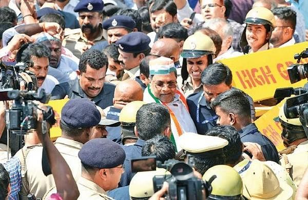 Anti-CAA play: Congress leaders hold rally against govt, police; held