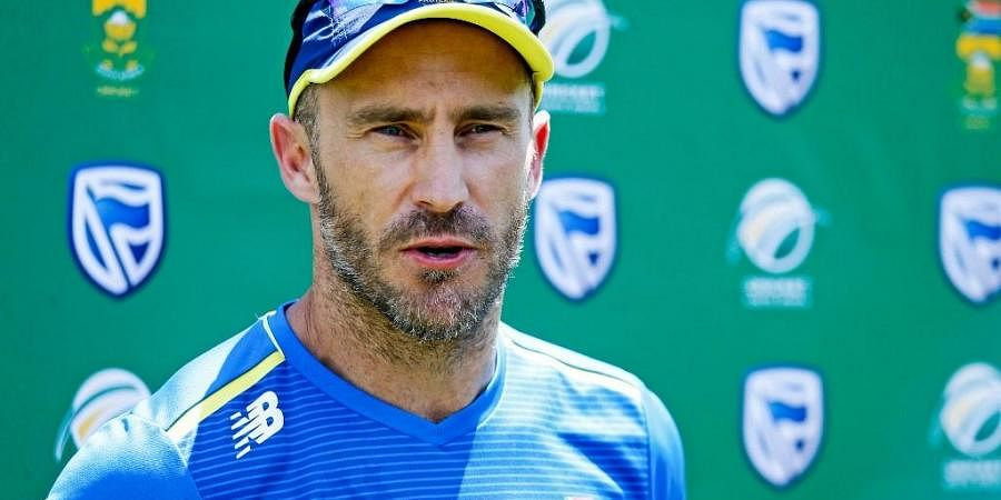 South Africa's Test and T20 teams captain Faf Du Plessis (File Photo| AFP)