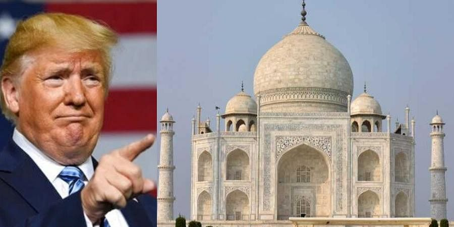 US President Donald Trump will be visiting the Taj Mahal this month.