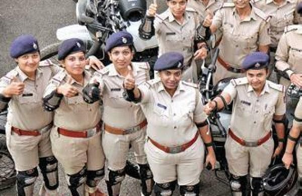 QUOTA UP BY 5% FOR WOMEN IN POLICE FORCE