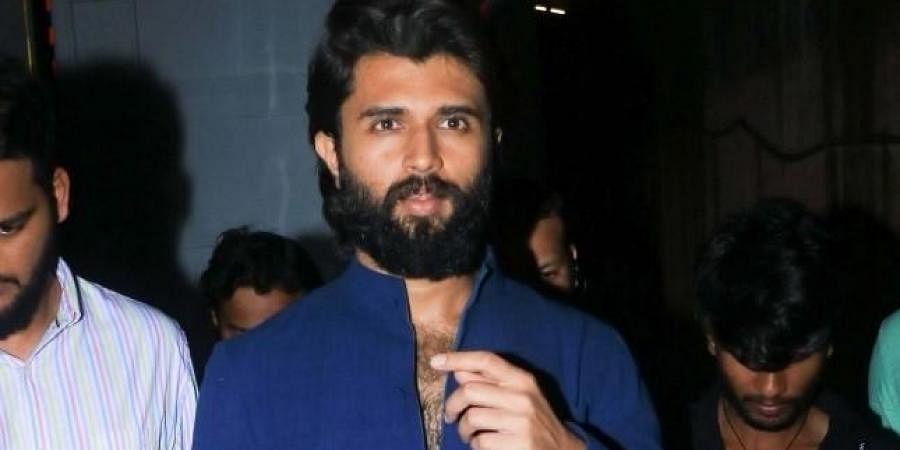 Telugu actor Vijay Deverakonda