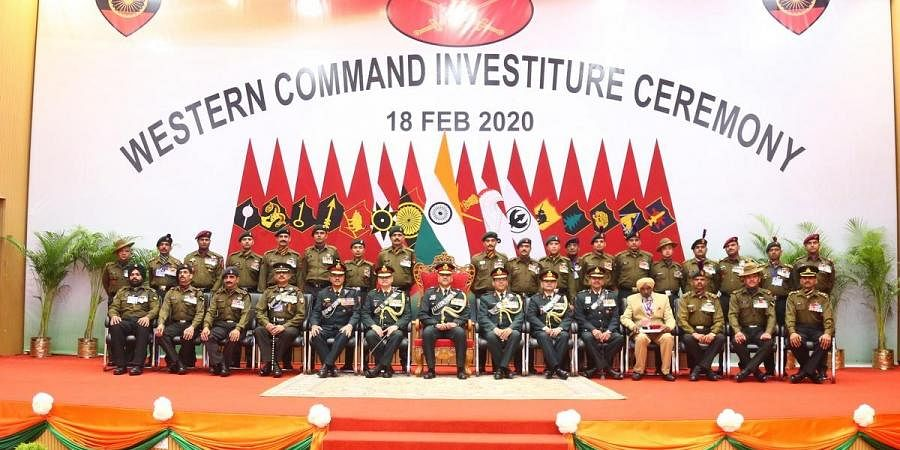 A picture from Investiture Ceremony held in Dehradun.