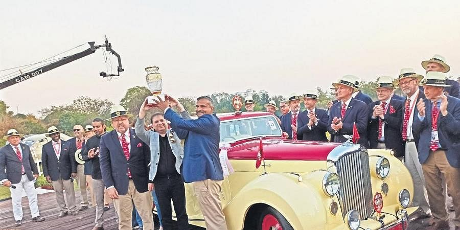 The occasion was the 9th edition of the 21 Gun Salute Vintage Car Rally & Concours d'Elegance 2020.