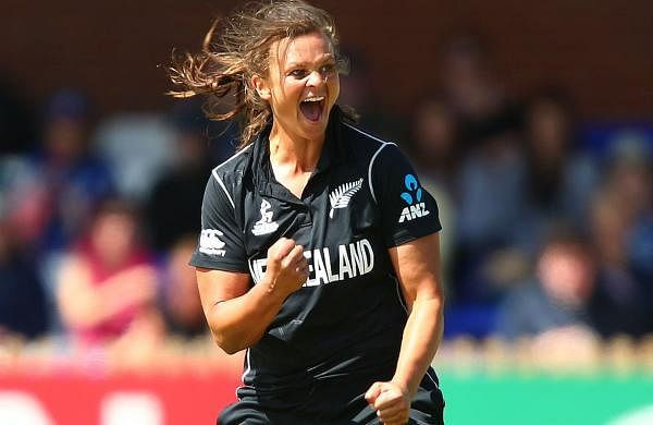 SUZIE BATES (NEW ZEALAND): A multi-talented athlete, Bates represented New Zealand in basketball at the 2008 Beijing Olympics. She has played at every World Cup and has scored a record 22 innings of fifty or more in Twenty20 internationals. One of the game's power hitters, she was captain from 2011 until 2018 when she relinquished the role to Amy Satterthwaite. Bates has played 115 Twenty20 internationals, smacking 3,195 runs and taking 49 wickets. She is ranked the world's leading batswoman in the shortest format.
