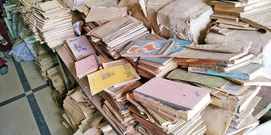 Sources said the library was established with 23,000 books received from Raja Ram Mohan Roy Library Foundation and Harekrushna Mahtab State Library but only 12,093 of them have been registered and catalogued.