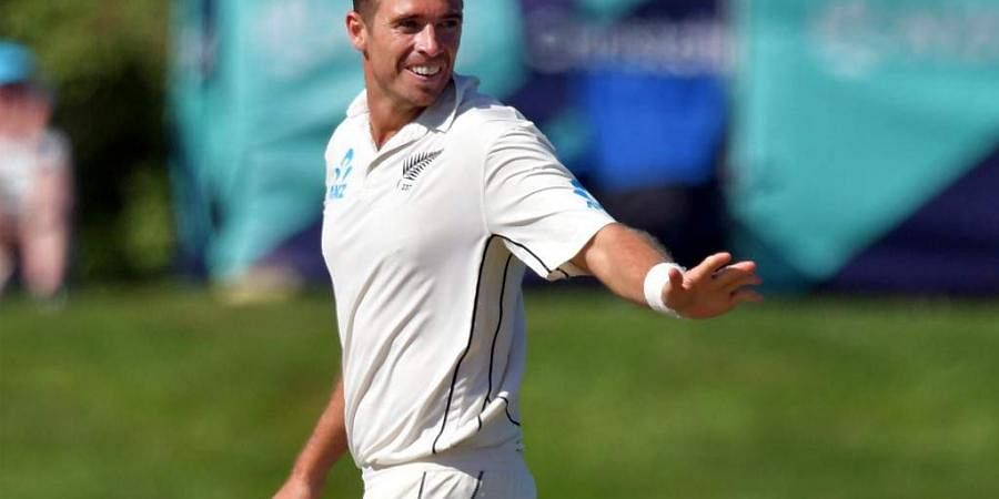 New Zealand's paceman Tim Southee. (Photo | AFP)
