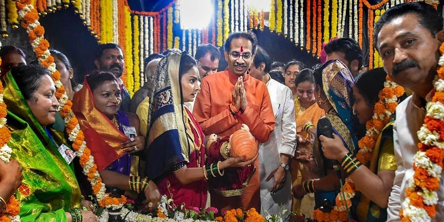 Maharashtra CM Uddhav Thackeray visits the birthplace of legendary Maratha warrior Chhatrapati Shivaji Maharaj on the occasion of his birth anniversary at Shivneri Fort in Pune