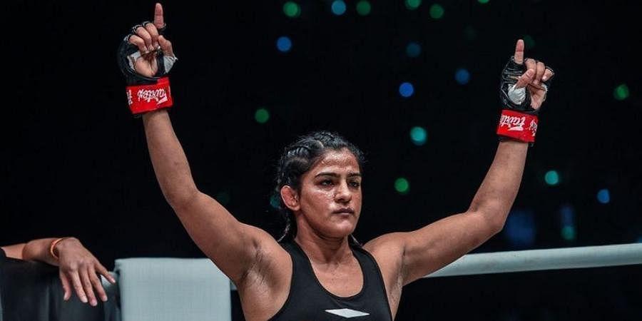 Wrestler/MMA fighter Ritu Phogat