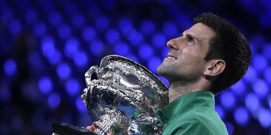 Novak Djokovic Wins 8th Australian Open Beating Dominic Thiem In Five Set Thriller The New Indian Express