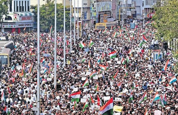 Chepauk chokes as 15k take out anti-CAA rally