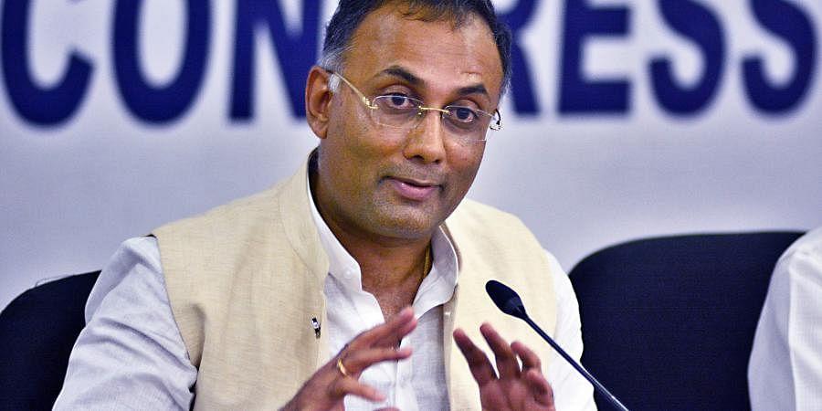 Karnataka Congress leader  Dinesh Gundu Rao (Photo   EPS)