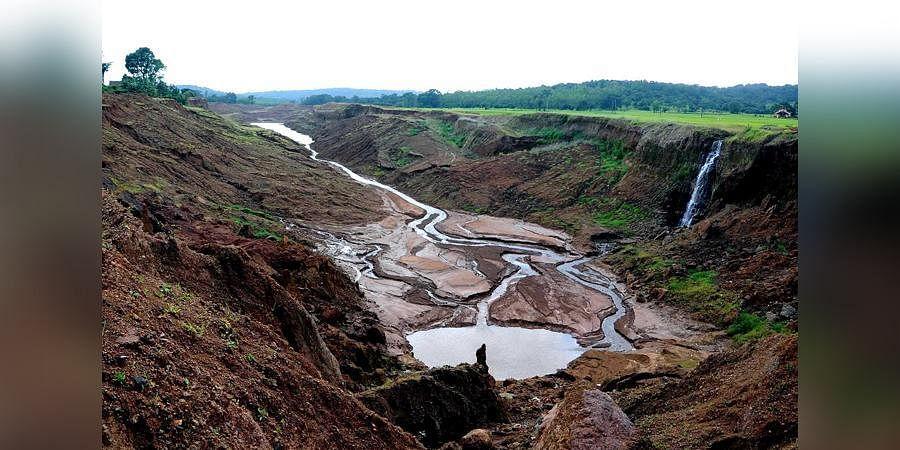 Mahadayi river. (Photo  EPS)