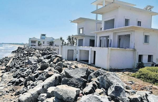 Study on impact of tourism activities on Chennai coastline