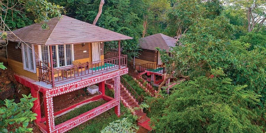 Satkosia Gorge View cottage at Badmul eco-tourism project.