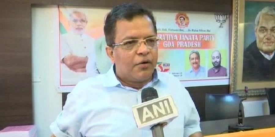 Goa BJP General Secretary Narendra Sawaikar