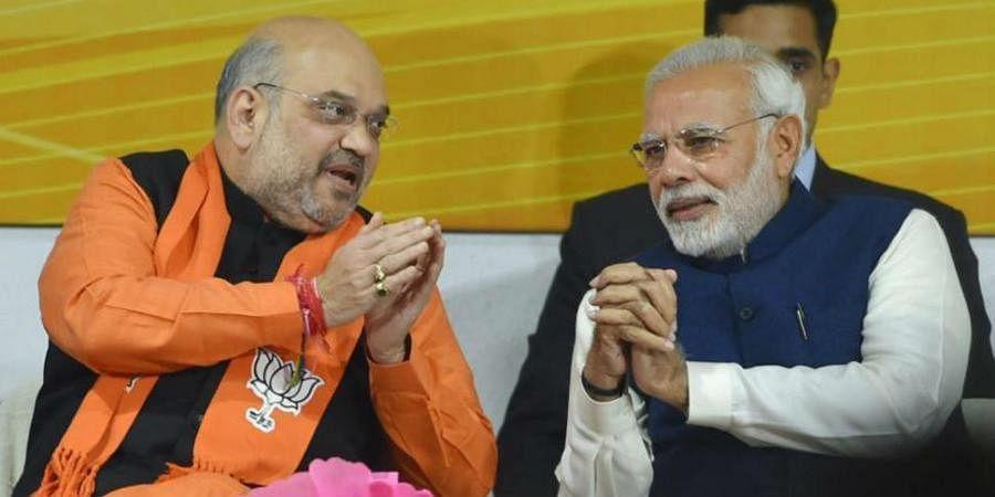 PM Narendra Modi with Union Home MinisterAmit Shah