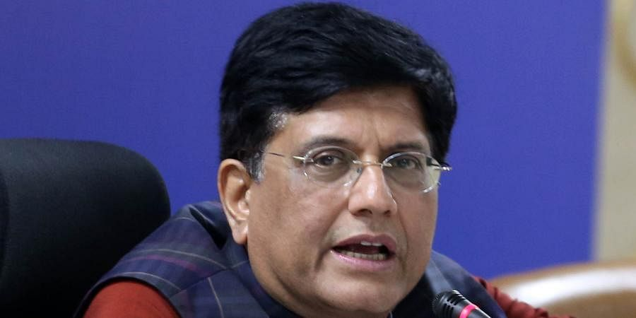 Union Railways and Commerce Minster Piyush Goyal