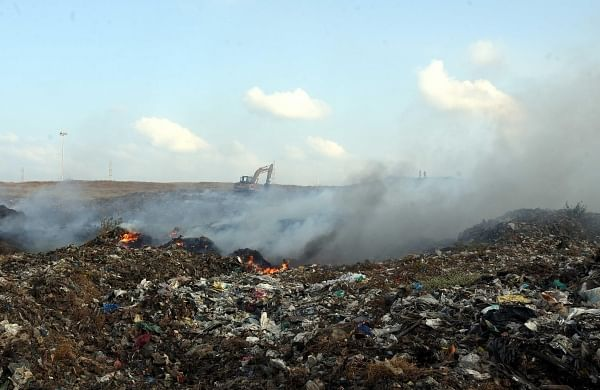 Yet Another fire at Kodungaiyur dumpyard