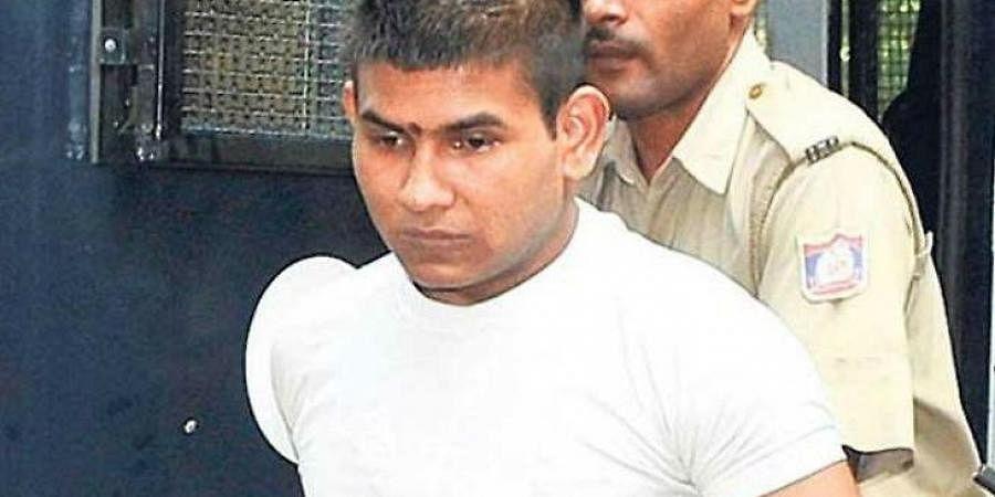 Nirbhaya rape case convict Vinay Sharma.