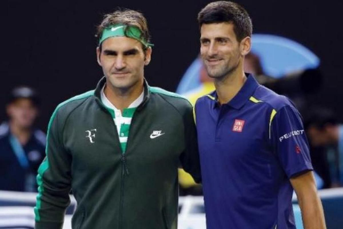 Novak Djokovic Laments Roger Federer S Absence At Dubai Championships The New Indian Express