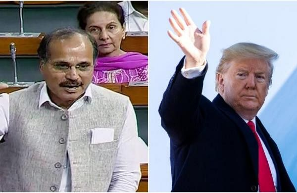 Trump using Indian soil for presidential poll campaign: Congress leader Adhir Ranjan Chowdhury