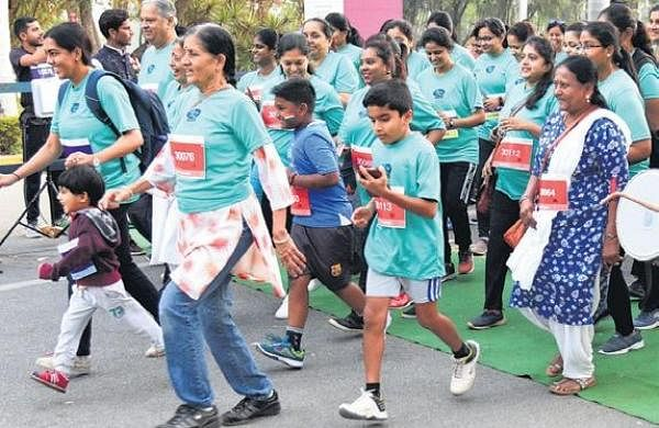 Bengaluru marathon: On the right track for a cause