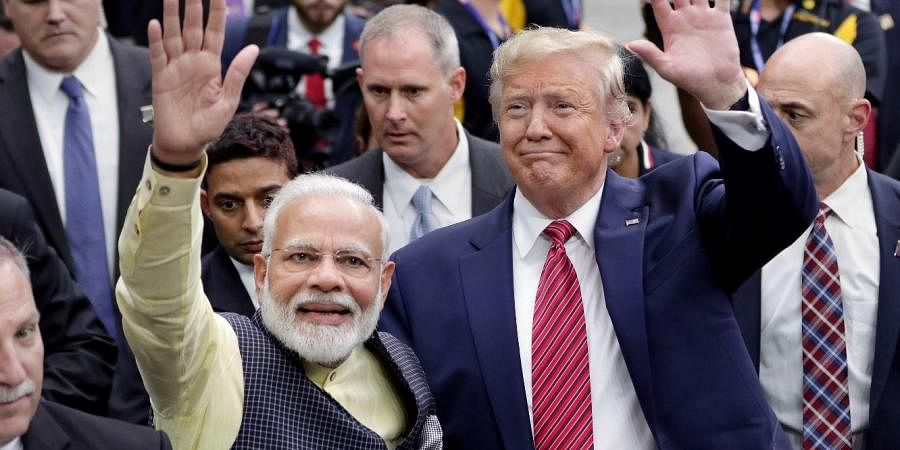 US President Donald Trump is ready for a king's welcome as he head to India on Sunday for a jam packed two-day tour.