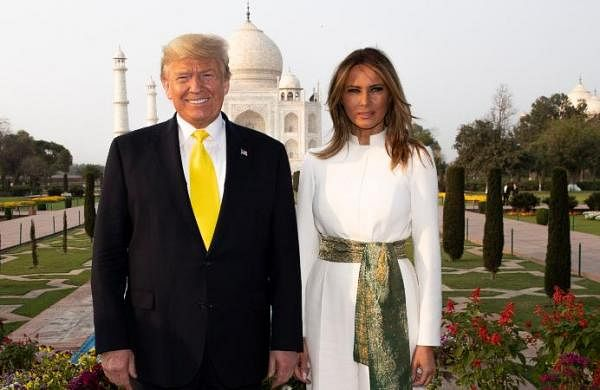 US President Donald Trump didn't visit graves at Taj Mahal over security concerns