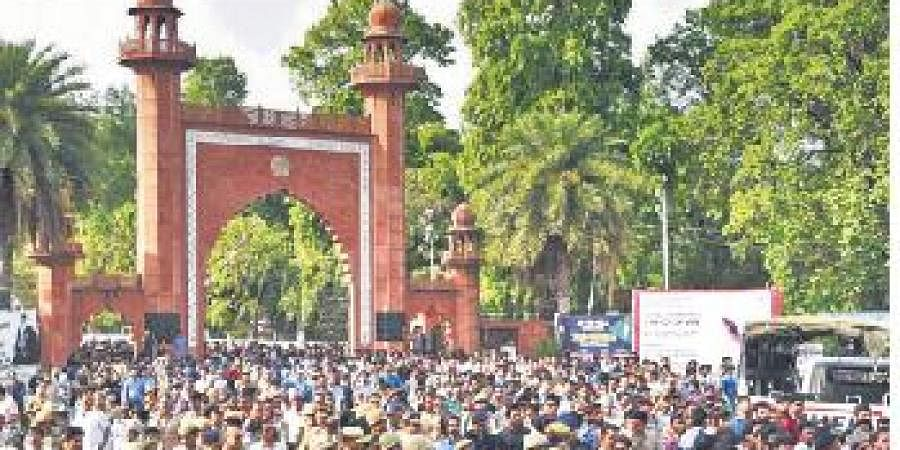 The flames over the alleged police crackdown on students campaigning against the contentious citizenship law outside the Jamia Millia Islamia in New Delhi.