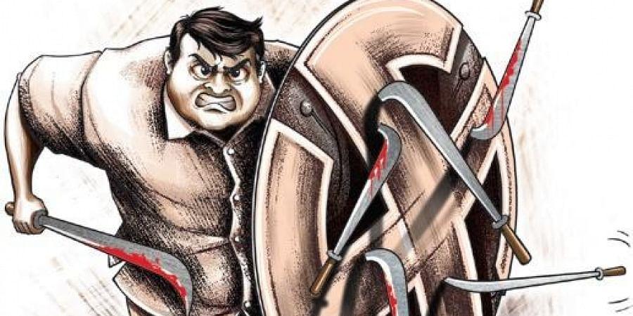 Violence, party violence, dominance, TMC
