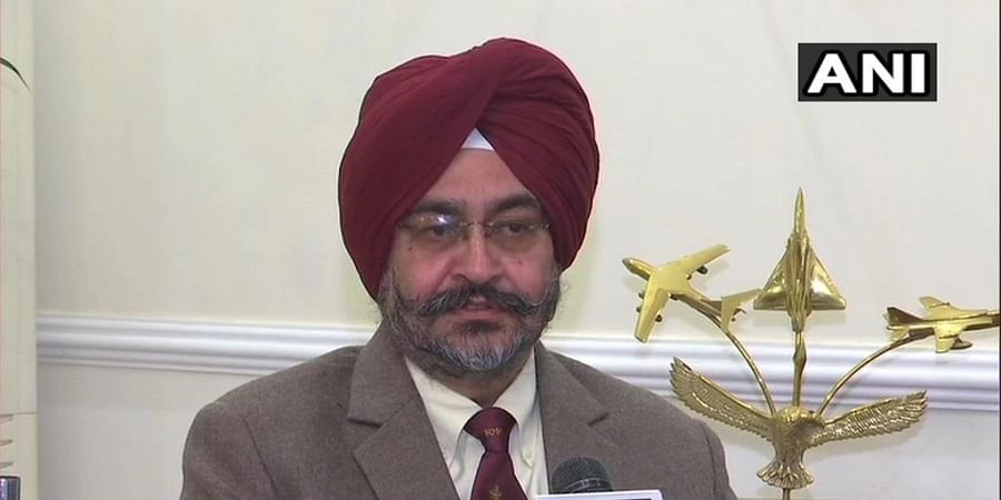 Former IAF chief BS Dhanoa