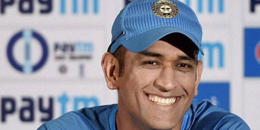 Former Indian captain MS Dhoni
