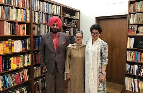 Met Sonia Gandhi and Priyanka to discuss Congress' roadmap in Punjab: Navjot Singh Sidhu