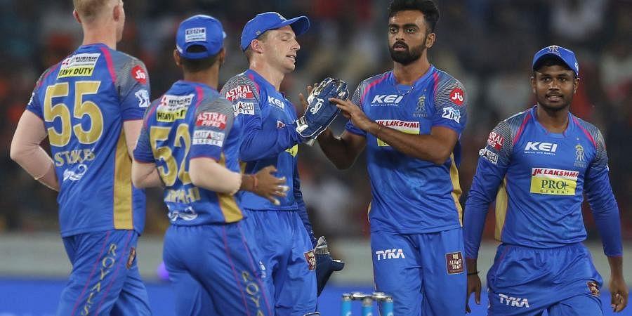 Rajasthan Royals players. (File | AP)