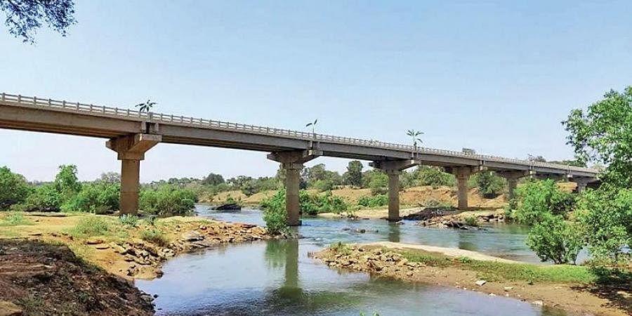 The bridge over Sileru river