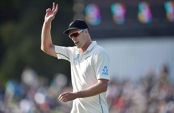 Five-wicket haul for New Zealand's Jamieson as India folds for 242 in second Test