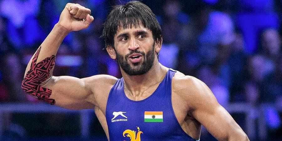 Wrestler Bajrang Punia has competed against an Iranian wrestler.