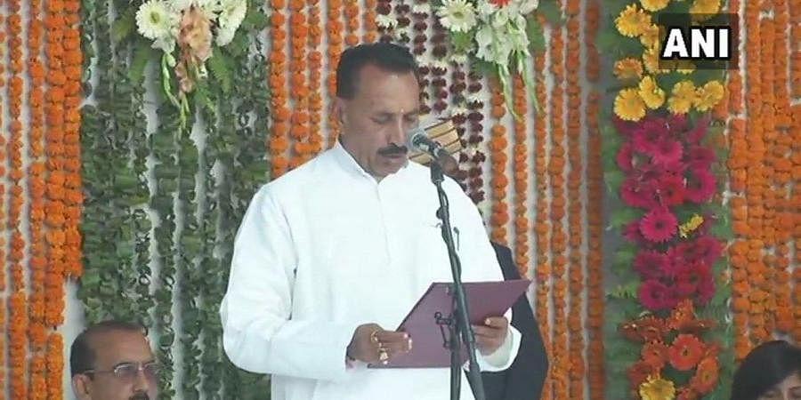 Madhya Pradesh Water Resources Minister Hukum Singh Karada