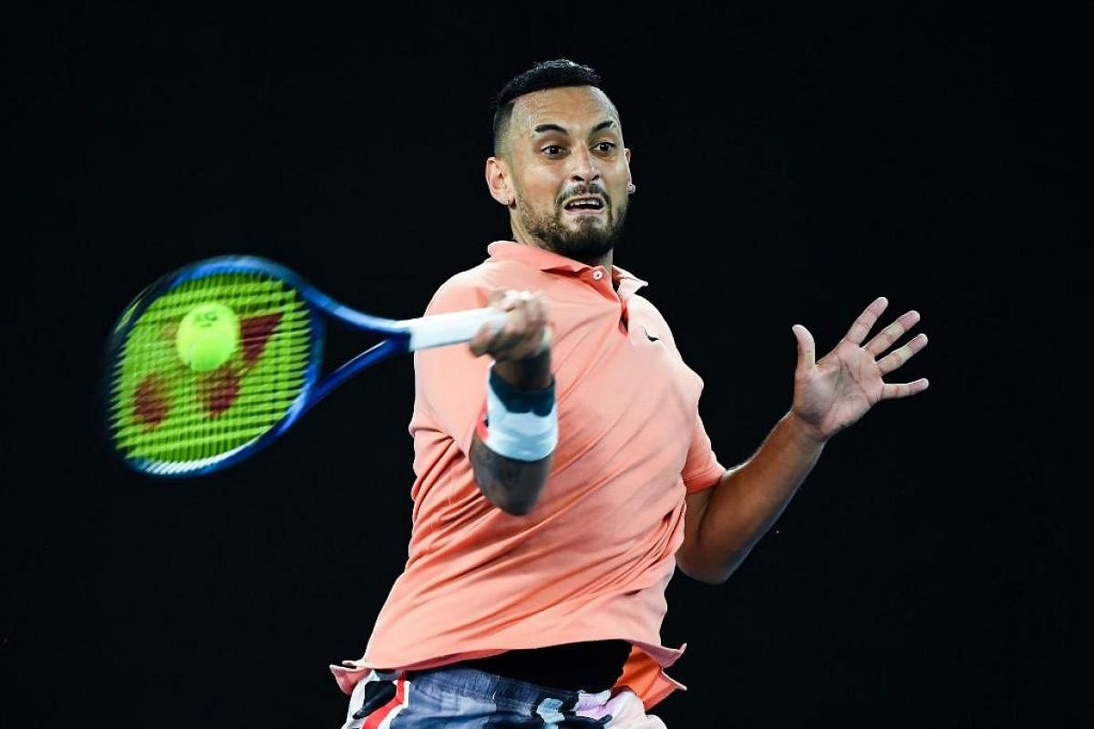 Covid 19 Nick Kyrgios Hits Out After Djokovic S Father Blames Dimitrov The New Indian Express